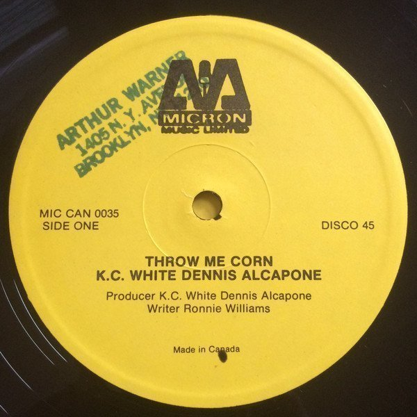 Dennis Alcapone - Throw Me Corn / Version Of Love