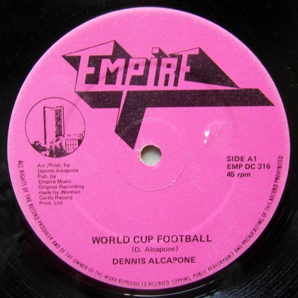Dennis Alcapone - World Cup Football / Dub It Football Style