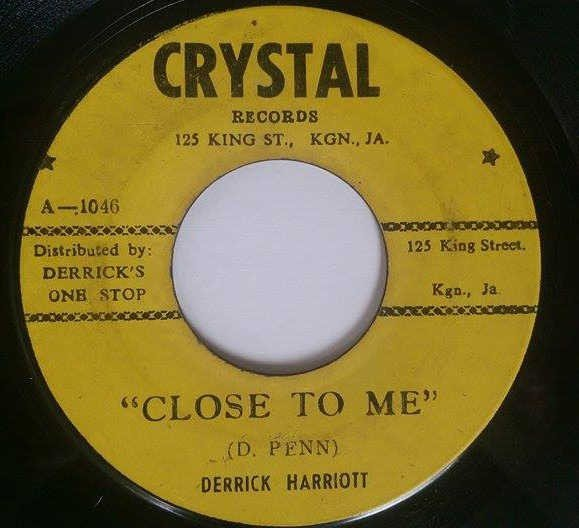 Derrick Harriott - Close To Me / Another Lonely Night