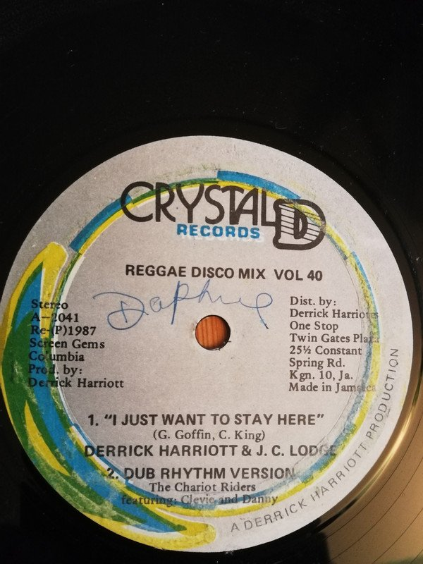 Derrick Harriott - I Just Want To Stay Here