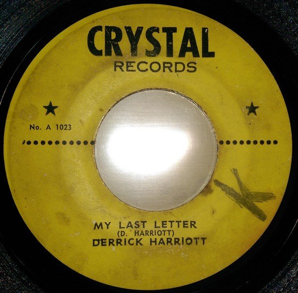 Derrick Harriott - My Last Letter / Reach Out I