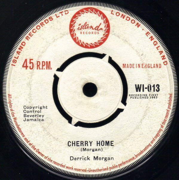 Derrick Morgan - Cherry Home / See And Blind