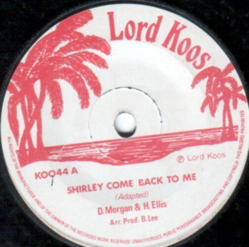 Derrick Morgan - Shirley Come Back To Me / A Good Version