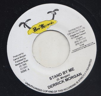 Derrick Morgan - Stand By Me / Shower Of Rain