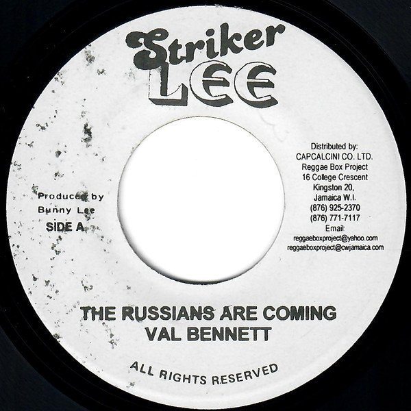 Derrick Morgan - The Russians Are Coming / The Great Musical