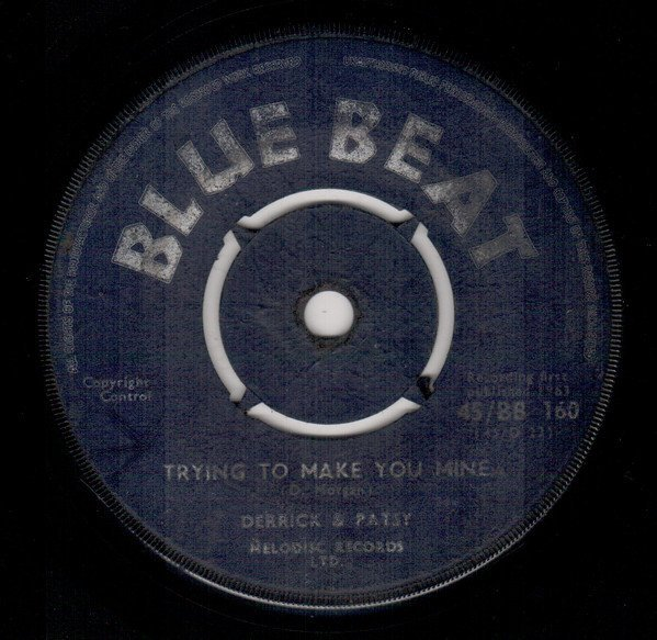 Derrick Morgan - Trying To Make You Mine / Hold Me