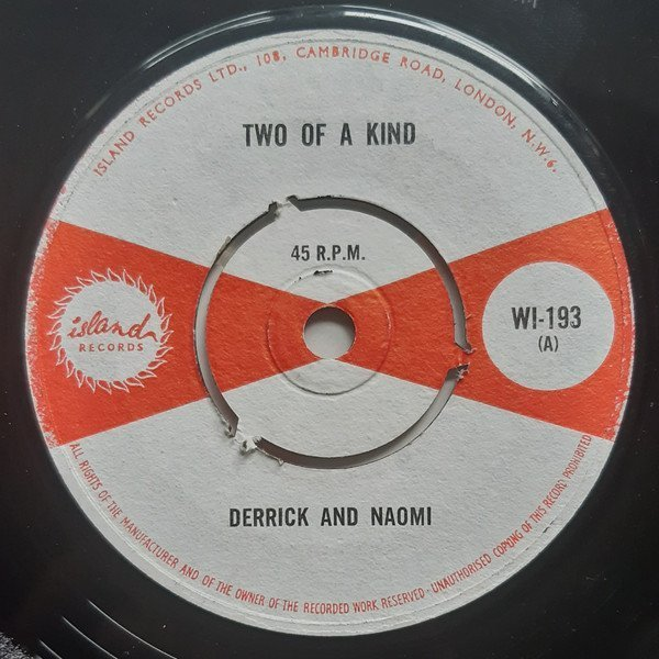 Derrick Morgan - Two of A Kind / I Want A Lover