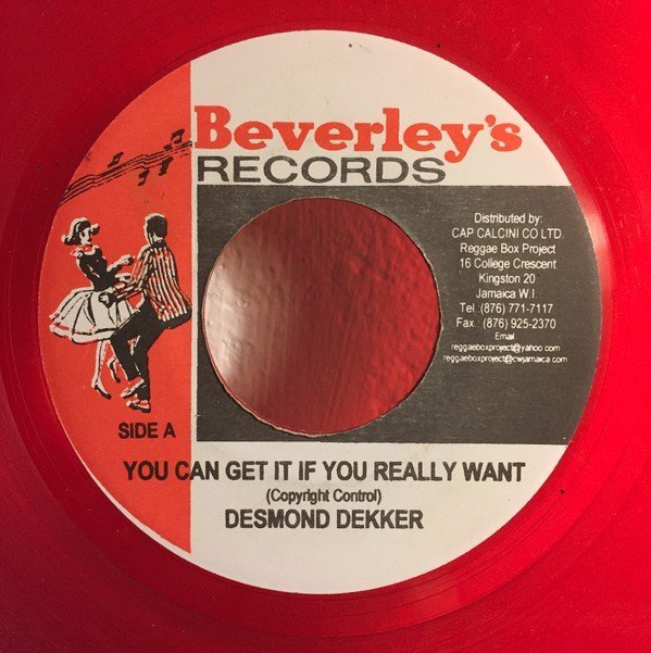 Desmond Dekker - You Can Get It If You Really Want / Polka Dot