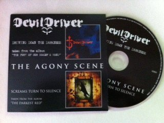 Devildriver - Driving Down The Darkness / Screams Turn To Silence