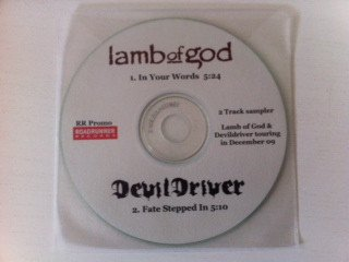 Devildriver - In Your Words / Fate Stepped In