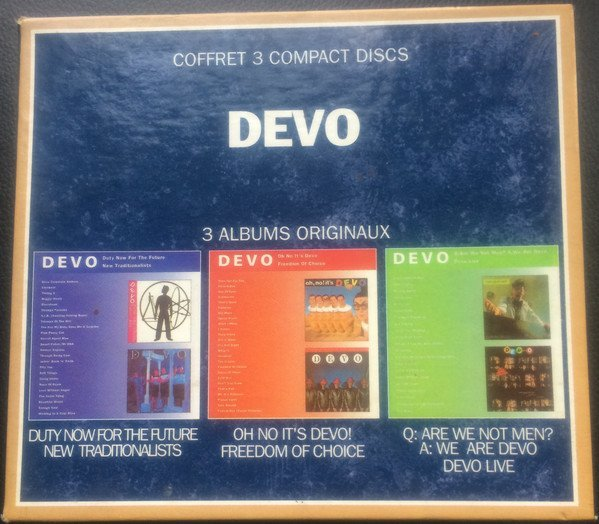 Devo - Duty Now For The Future/New Traditionalists • Oh No It