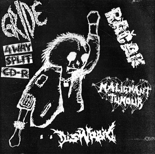 Disturbio - 4Way Split CD-R