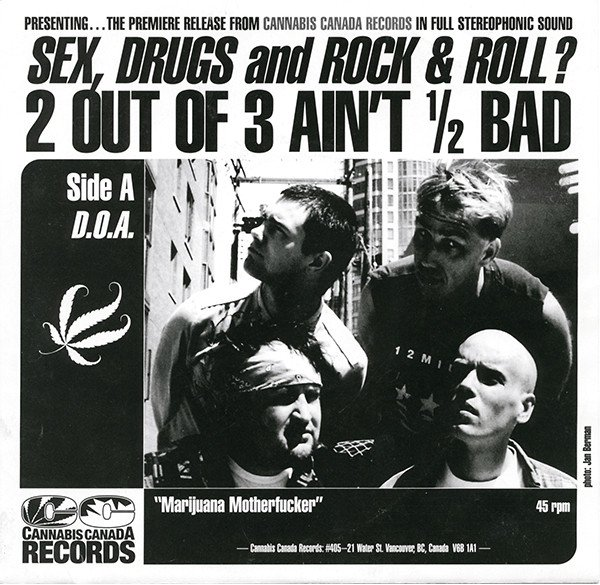 Doa - Sex, Drugs And Rock & Roll ? 2 Out Of 3 Ain