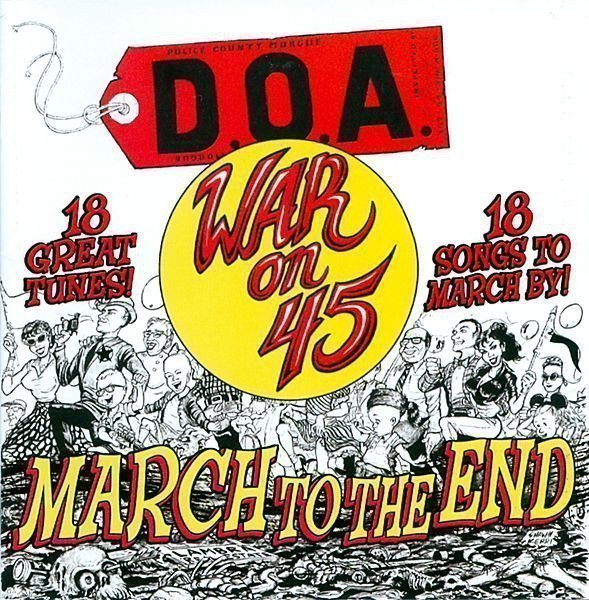Doa - War On 45 - March To The End