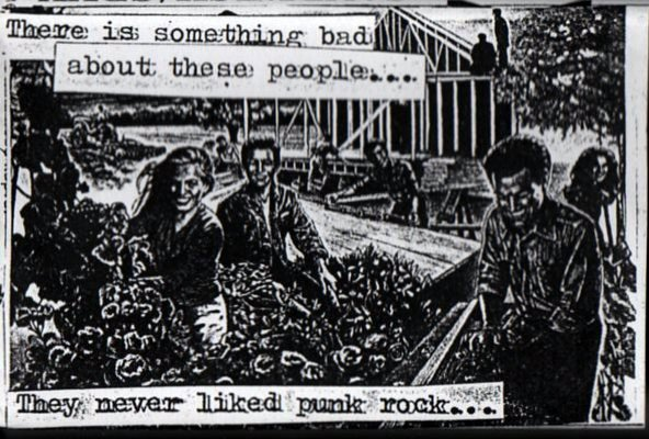 Dogshit Sandwich - There Is Something Bad About These People... They Never Liked Punk Rock...