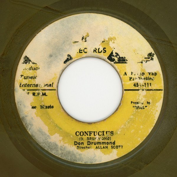 Don Drummond - Confucius / Lonely And Blue Boy