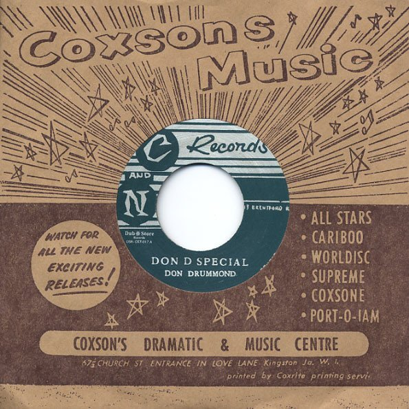 Don Drummond - Don D Special / Fidel