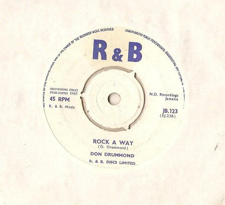 Don Drummond - Rock A Way / You Hold The Key