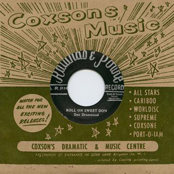 Don Drummond - Roll On Sweet Don / Jericho Road