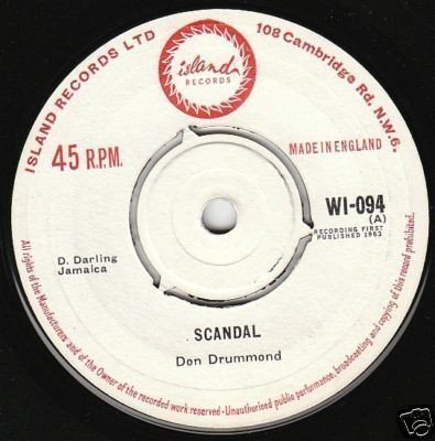 Don Drummond - Scandal / My Ideal
