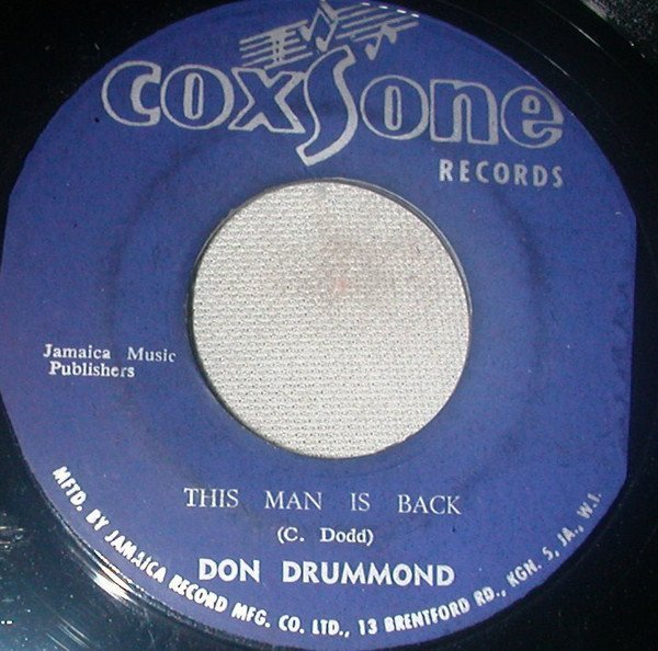 Don Drummond - This Man Is Back / The Words