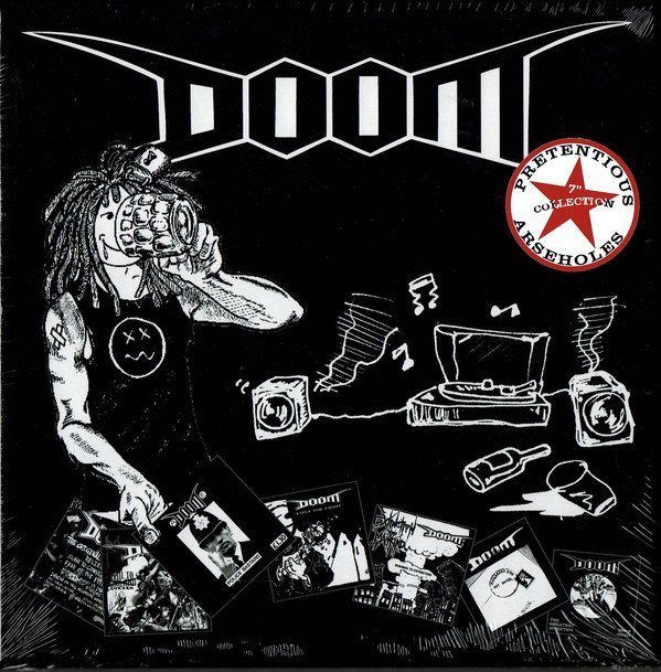 Doom - Pretentious Arseholes 7 Inch Collection