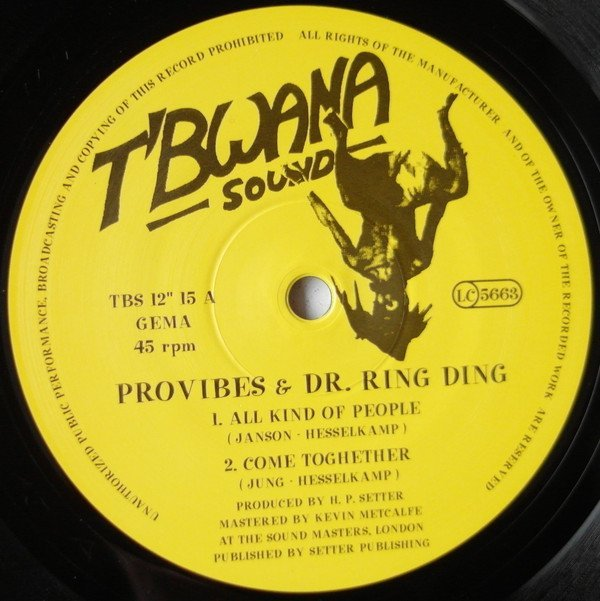 Dr Ring Ding - All Kind of People