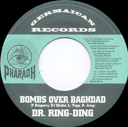 Dr Ring Ding - Bombs Over Baghdad