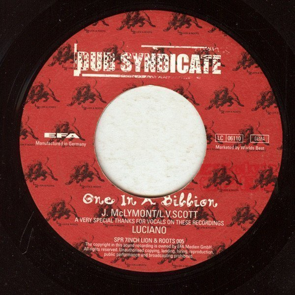 Dub Syndicate - One In A Billion / Time