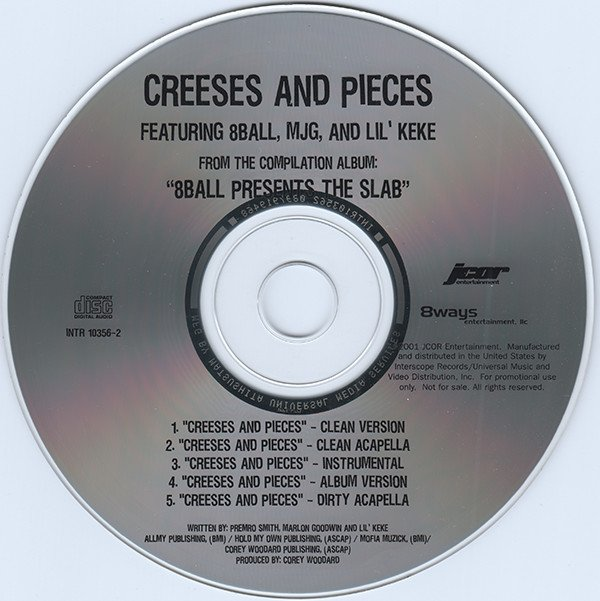 Eightball - Creeses And Pieces