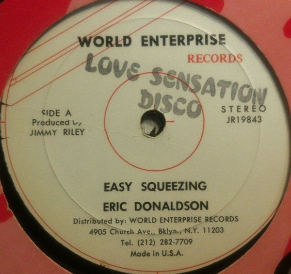 Eric Donaldson - Easy Squeeze / My Mommy