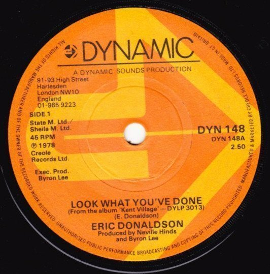 Eric Donaldson - Look What You