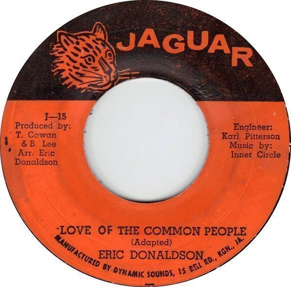 Eric Donaldson - Love Of The Common People / Common People (Version)