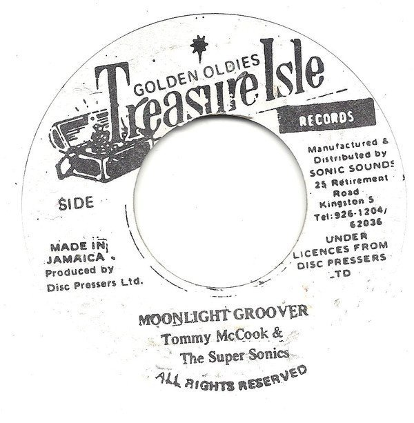 Eric Morris - Moonlight Groover / What A Man Do