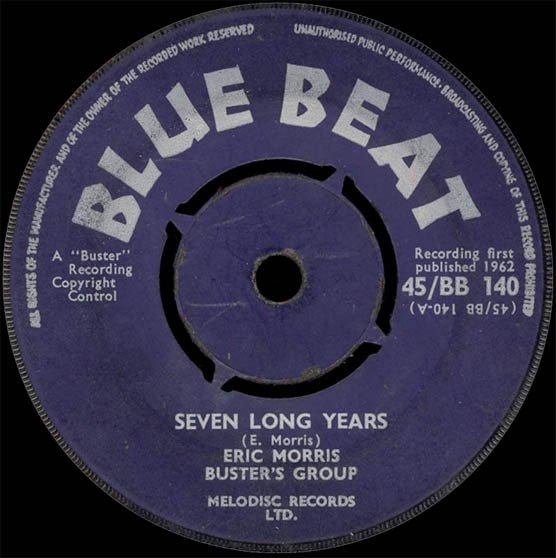 Eric Morris - Seven Long Years / For Your Love