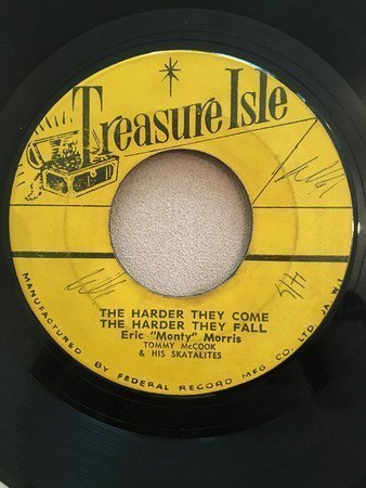 Eric Morris - The harder they come the harder they fall