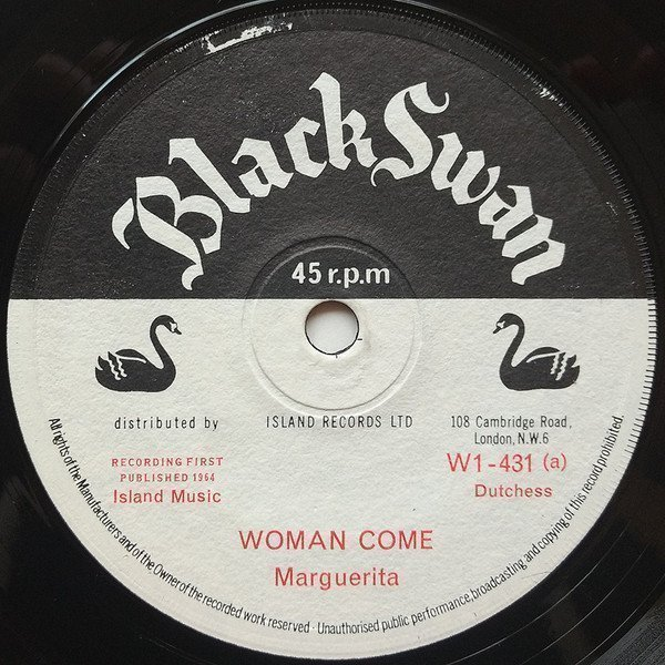 Eric Morris - Woman Come / Number One