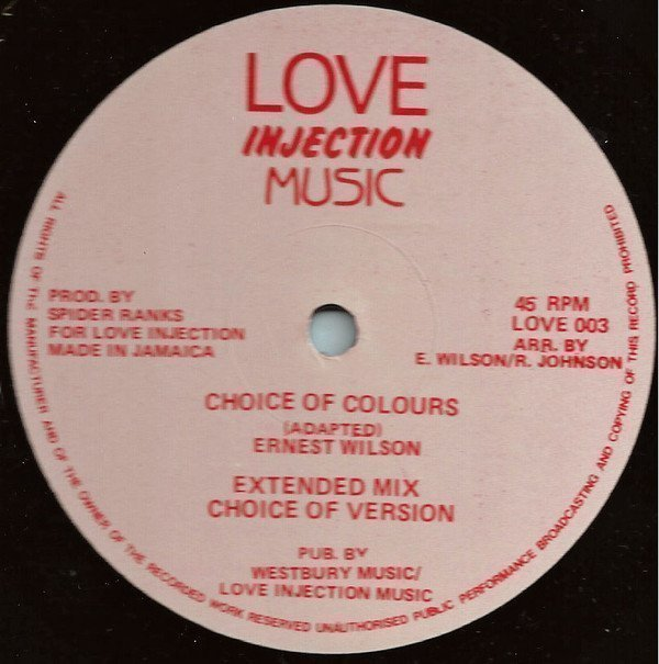 Ernest Wilson - Choice Of Colours