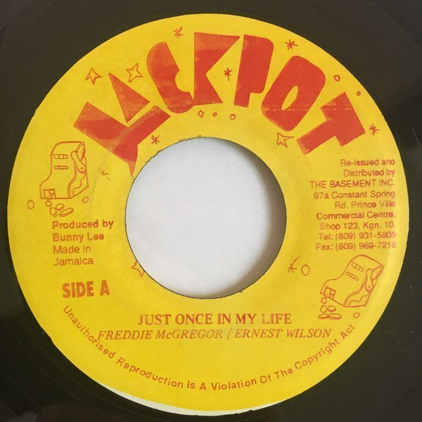 Ernest Wilson - Just Once In My Life / Tommy