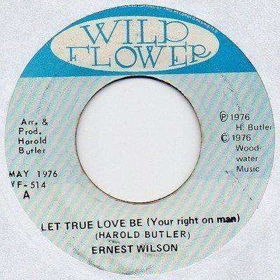 Ernest Wilson - Let True Love Be (Your Right On Man)