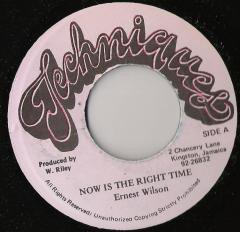 Ernest Wilson - Now Is The Right Time