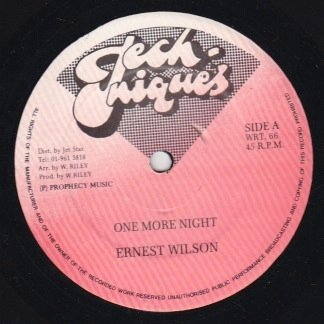 Ernest Wilson - One More Night / Some People Belong Together
