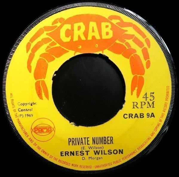 Ernest Wilson - Private Number / Another Chance