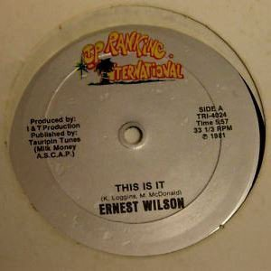 Ernest Wilson - This Is It