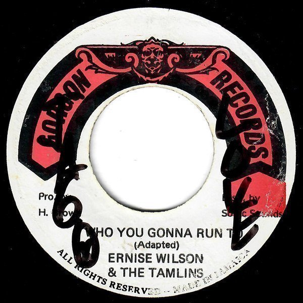 Ernest Wilson - Who You Gonna Run To