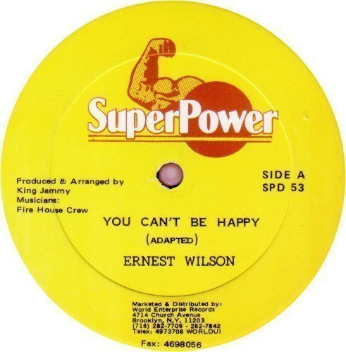 Ernest Wilson - You Can