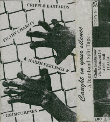Filthy Charity - Caught In Your Silence - A Four Band Split Tape
