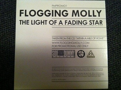 Flogging Molly - The Light Of A Fading Star