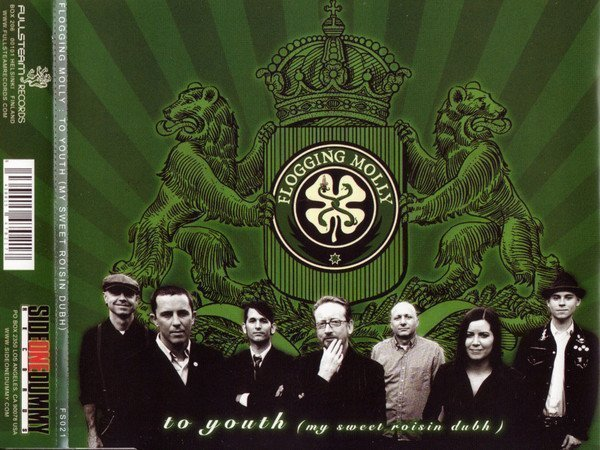 Flogging Molly - To Youth (My Sweet Roisin Dubh)