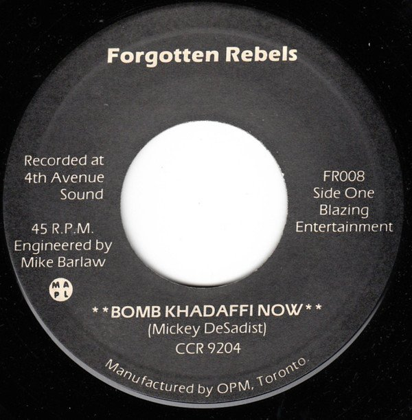 Forgotten Rebels - Bomb Khadaffi Now